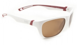 Cal Polarised Kids Sunglasses White Amber