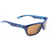 Cal Polarised Kids Sunglasses Blue Amber