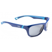 Cal Polarised Kids Sunglasses Blue Grey