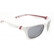 Cal Polarised Kids Sunglasses White Grey