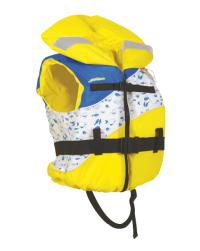 Comfort Boating Vest Youth Yellow
